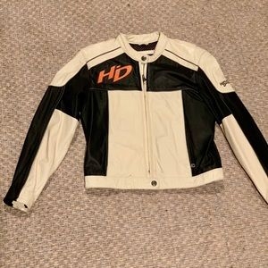 Harly Davidson Leather Riding Jacket